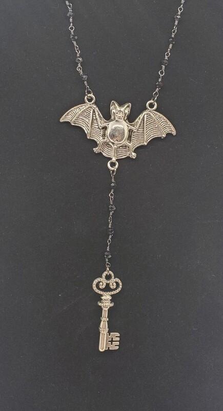 Bat and Key Rosary
