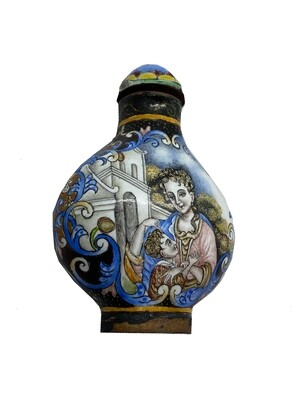 18th Cent. Chinese Western Snuff Bottle