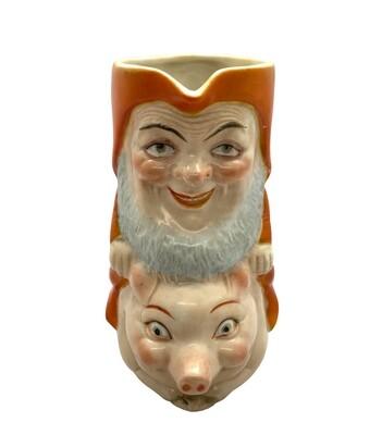 Schafer & Vater Santa Gnome on Pig Creamer