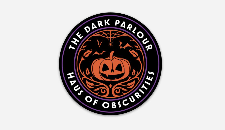 Pumpkin Logo Sticker 3