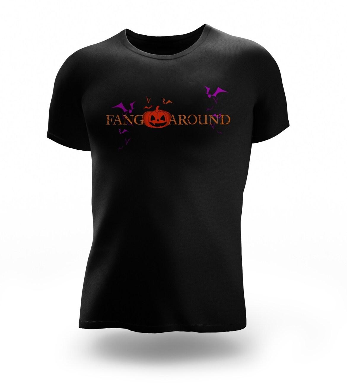 Fang Around Logo Tee
