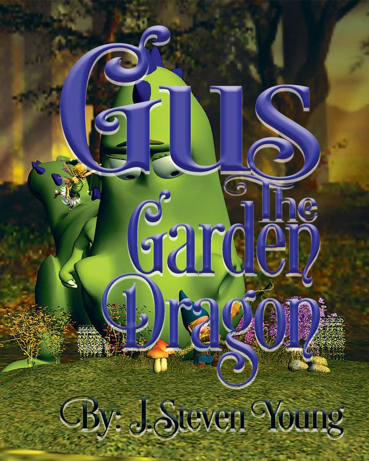 Gus the Garden Dragon (signed)