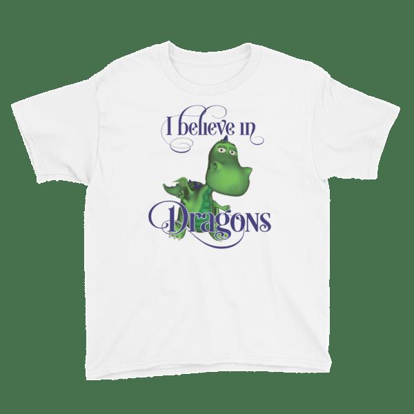 Gus the Garden Dragon Youth Short Sleeve T-Shirt