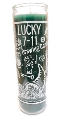 7 Day Candle- 7-11 Money Drawing