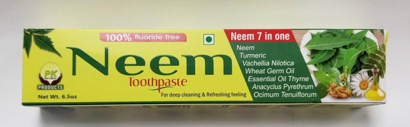 Pk Naturals Neem Toothpaste