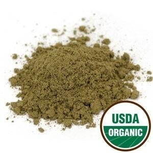 Starwest Botanicals Raspberry leaf powder Organic (4oz)