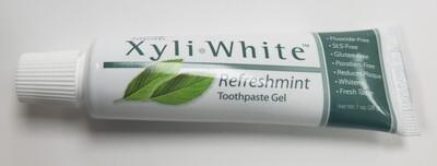 Travel Size Xyli•White Refreshment Toothpaste gel
