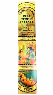 Song of India: Indian Temple Incense