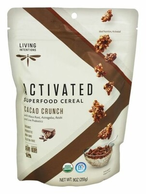 Activated Superfood Cereal - Cacoa Crunch 9oz