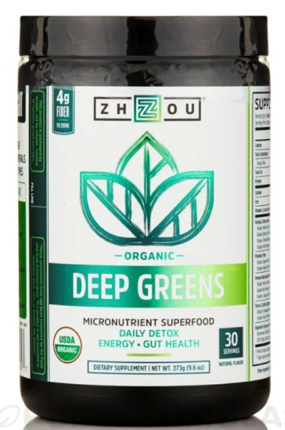 Organic Deep Greens 9.6oz