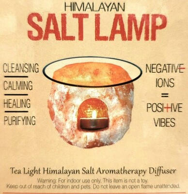 Himalayan Salt Lamp Oil Burner