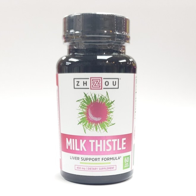 Zhou Milk Thistle Capsules