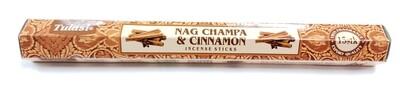 Tulasi: Nagchampa & Cinnamon Stick Incense (1 Unit 15 Sticks)