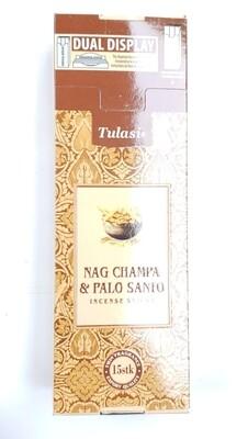 Tulasi: Nagchampa & Palo Santo Stick Incense Box (6 Unit 15 Sticks each)