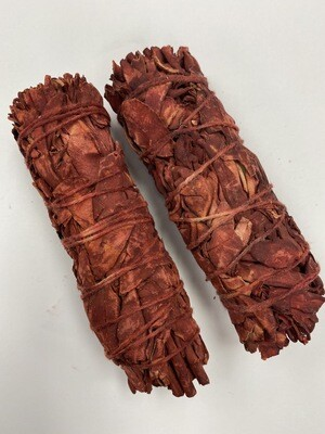 White Sage & Dragon's Blood Smudge Stick