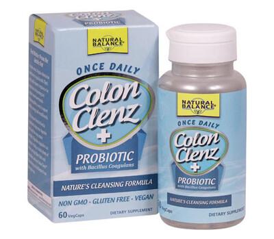 Natural Balance Colon Clenz + Probiotic
