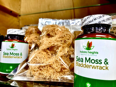 Purple Sea Moss from St. Lucia