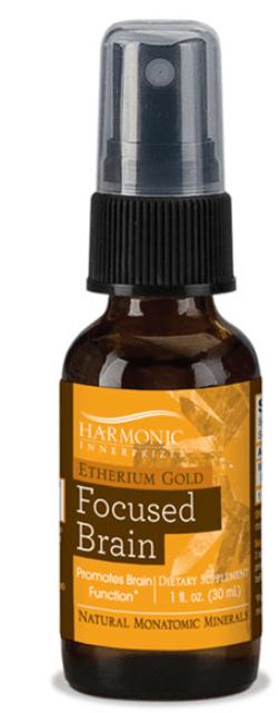 Harmonic Innerprizes Etherium Gold Focused Brain Spray