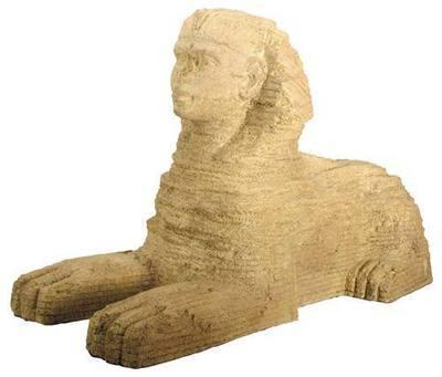 Giza Plateau Large Resin Sphinx Statue