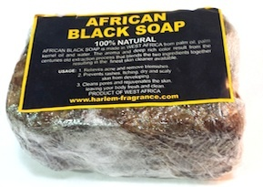 African Black Soap 100% Natural Bar Soap (Big)