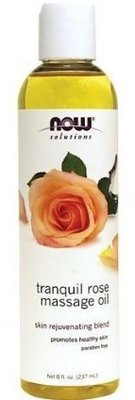 NOW - Rose Massage Oil 8 Oz