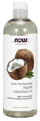Liquid Coconut Oil - Pure Fractionated 16oz