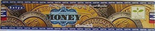Satya Money Incense - 15 Grams