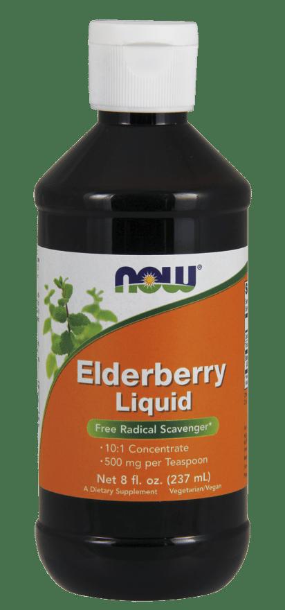 Elderberry Liquid Free Radical Scavenger* 8oz