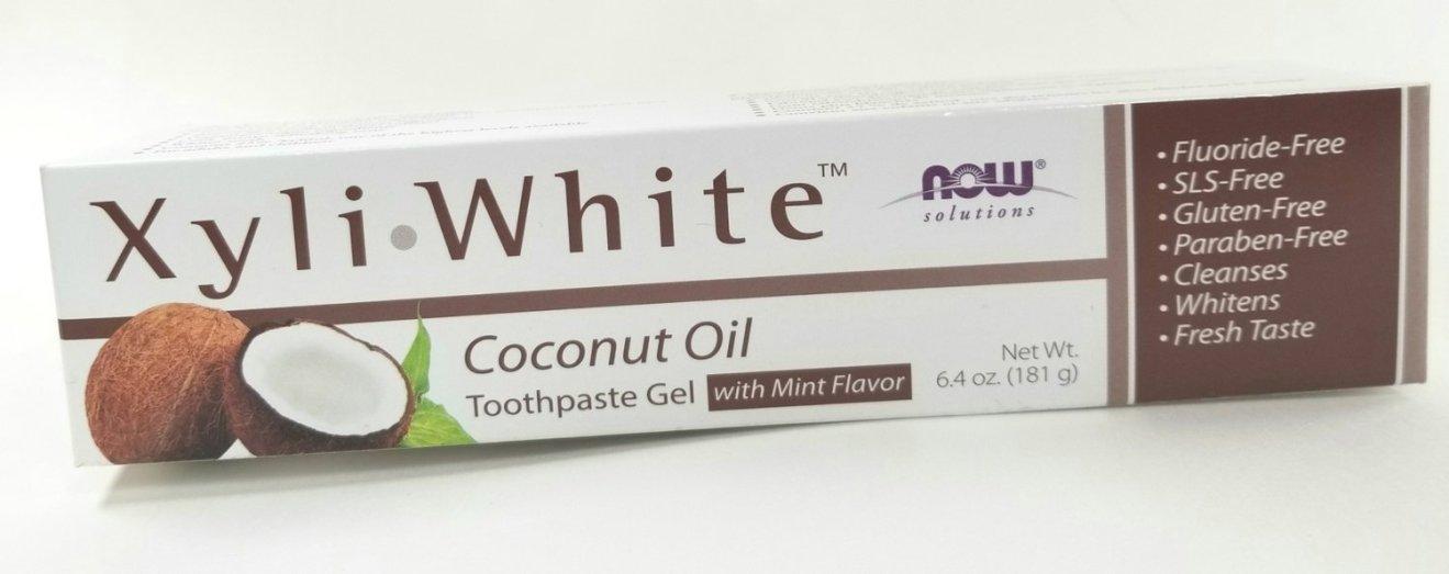 Xyli White Coconut Oil Toothpaste Gel