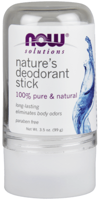Nature's Deodorant Stick (Stone) 100% Pure & Natural