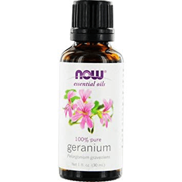 Now Essential Oils - Geranium 100% Pure Oil 1 fl.oz