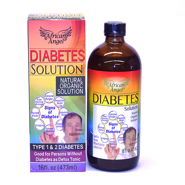 Organic Diabetes Solution Supplement