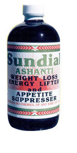 Sundial Ashanti Weight Loss Energy Lifter 32oz