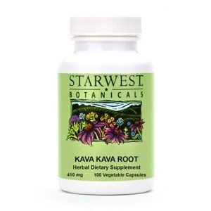 Starwest Botanicals Kava Kava Root Capsules