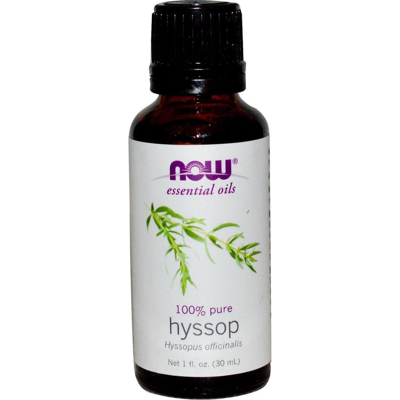 Now Essential Oils - Hyssop 100% Pure Oils 1 fl.oz