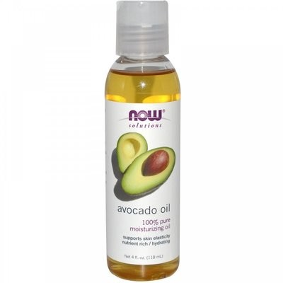 Now Solutions- Avocado Oil 100% Pure Moisturizing Oil 4 oz.