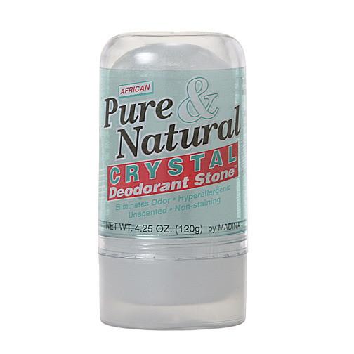 Natural Crystal Deodorant - 4.25oz
