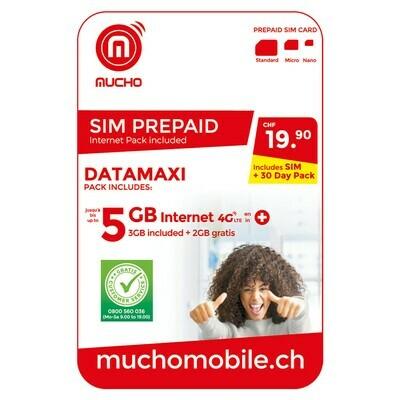 MUCHO SIM 19.90 FR. DATAMAXI ***GRATUIT / CARD