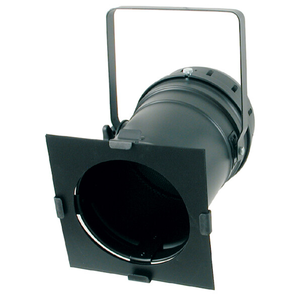 Projecteur PAR 64 KUPO - modèle NOIR court double lyre, avec parsafe