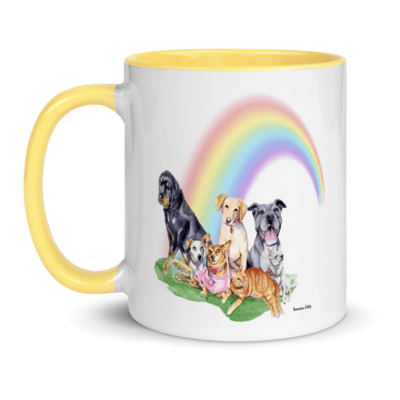 Rainbow Bridge Mug - Sunshine Edition