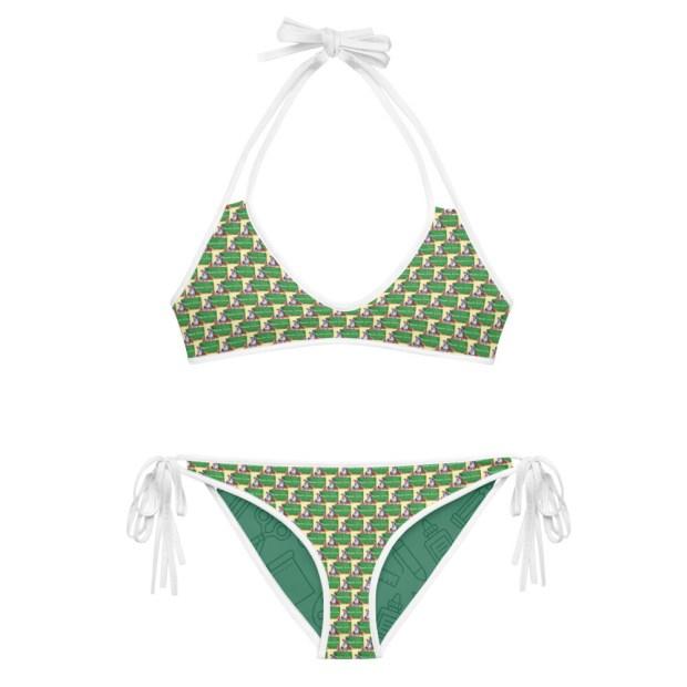 Valerie Teach Love - Reversible Bikini