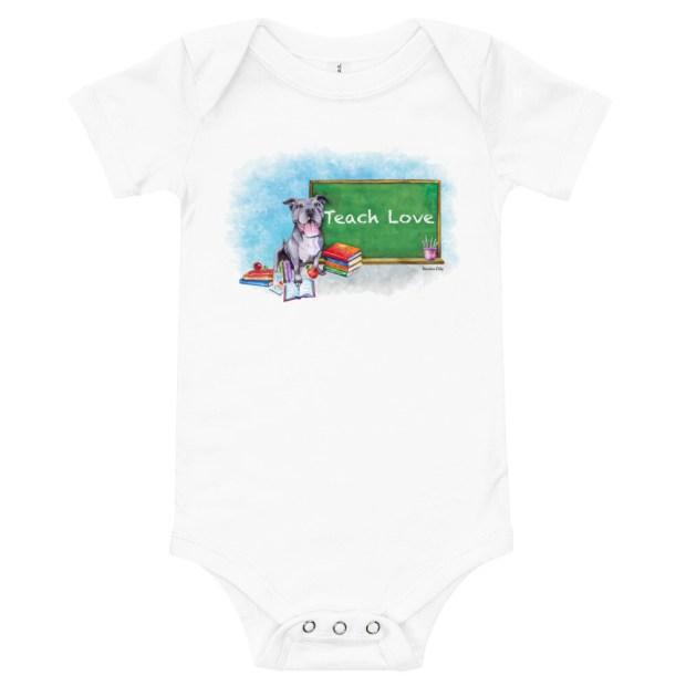 Valerie Teach Love - Baby Onsie T-Shirt
