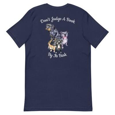 Don't Judge A Bark - Short-Sleeve Unisex T-Shirt