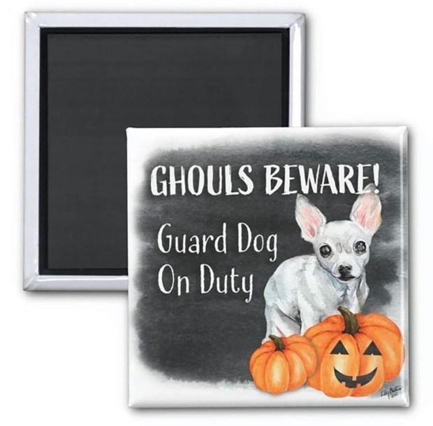 Ghouls Beware Magnet - Maybelline