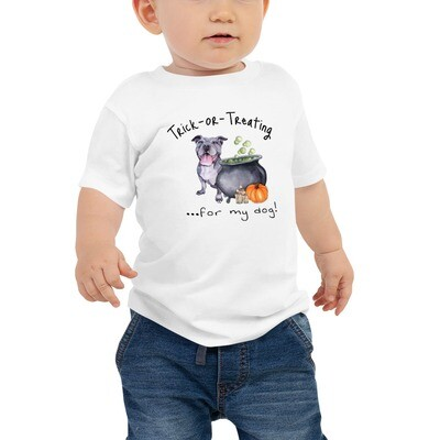 Doggie Trick or Treating - Baby Tee