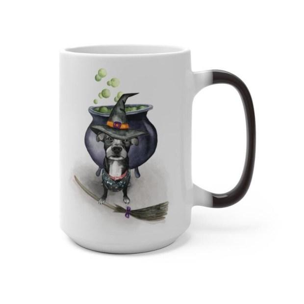 Doggie Hocus Pocus Color Changing Mug