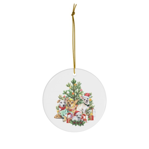 Have Yourself A Merry Little (Dog) Christmas Ornament