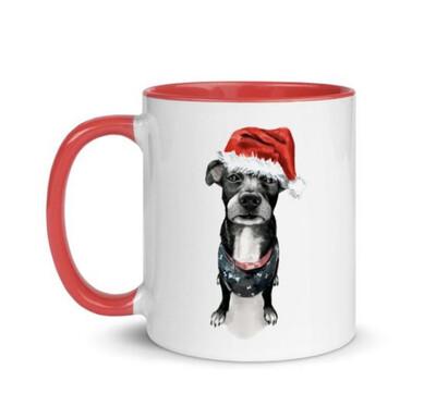 Santa, (Fur) Baby Mug - Lady