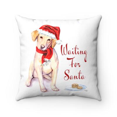 Santa (Fur)Baby Pillowcase - Labrador Retriever