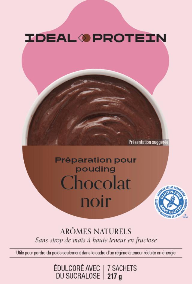 Préparation pour pouding au chocolat noir (7)